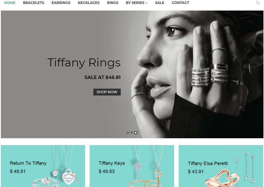 replica Tiffany jewlery sale in USA