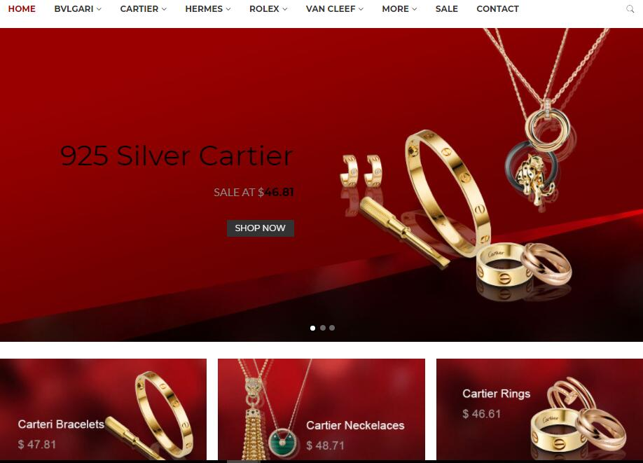 replica jewelries sale in Australia