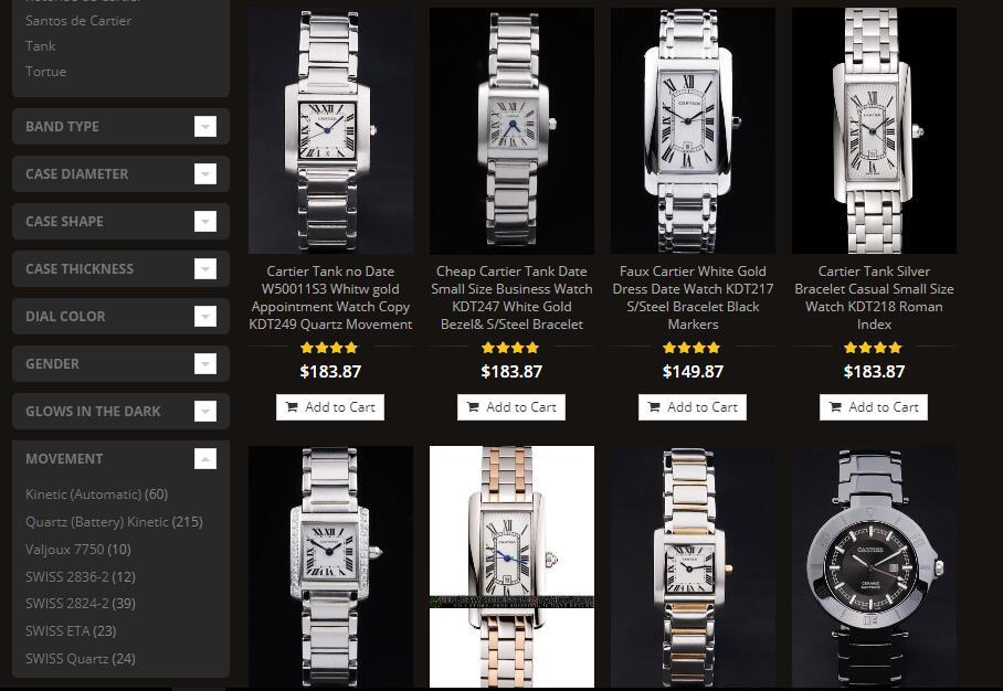 luxury Cartier sale at mca.mn