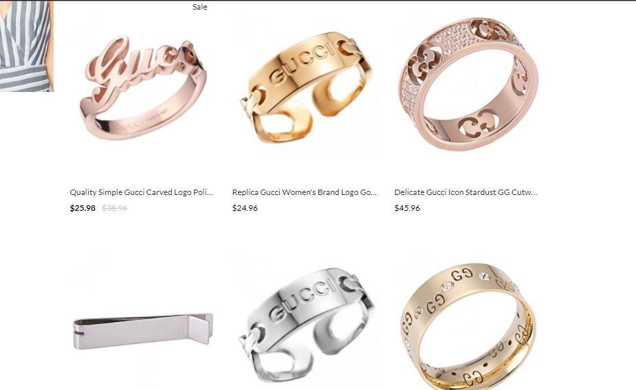 best quality replica Gucci jewelries sale