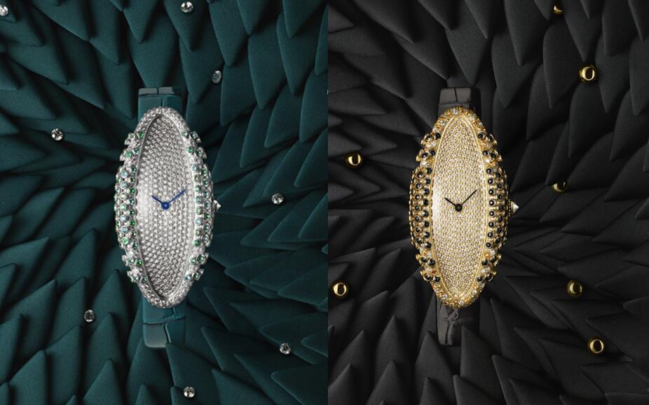 Cartier Baignoire-Allongee timers